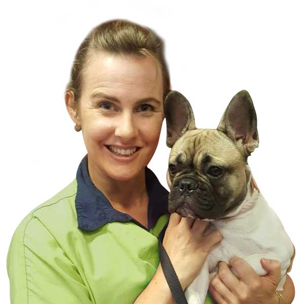 dr leigh and french bulldog